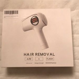 NWOT At home laser hair removal